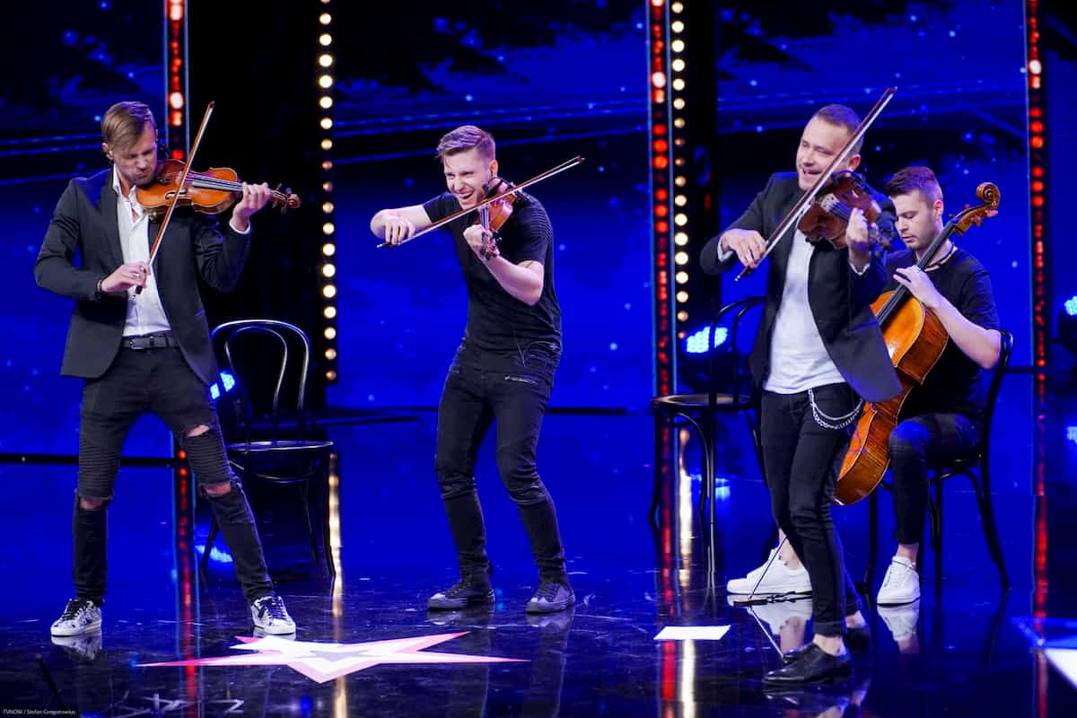 De Facto Quartet im Finale Supertalent am 21.12.2019