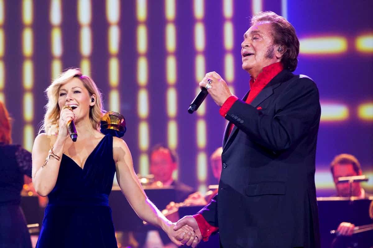 Engelbert mit Helene Fischer in der Helene Fischer Show 2019 am 25.12.2019