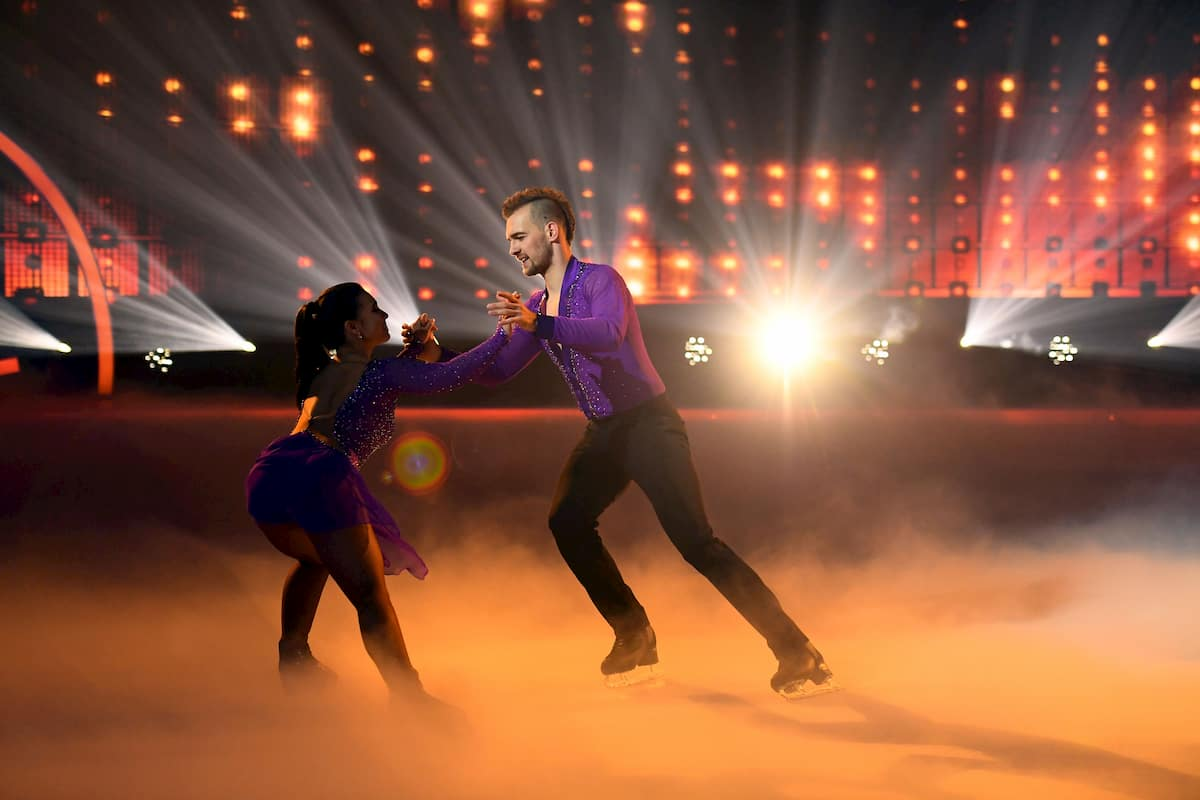 Eric Stehfest – Amani Fancy bei Dancing on Ice am 13.12.2019