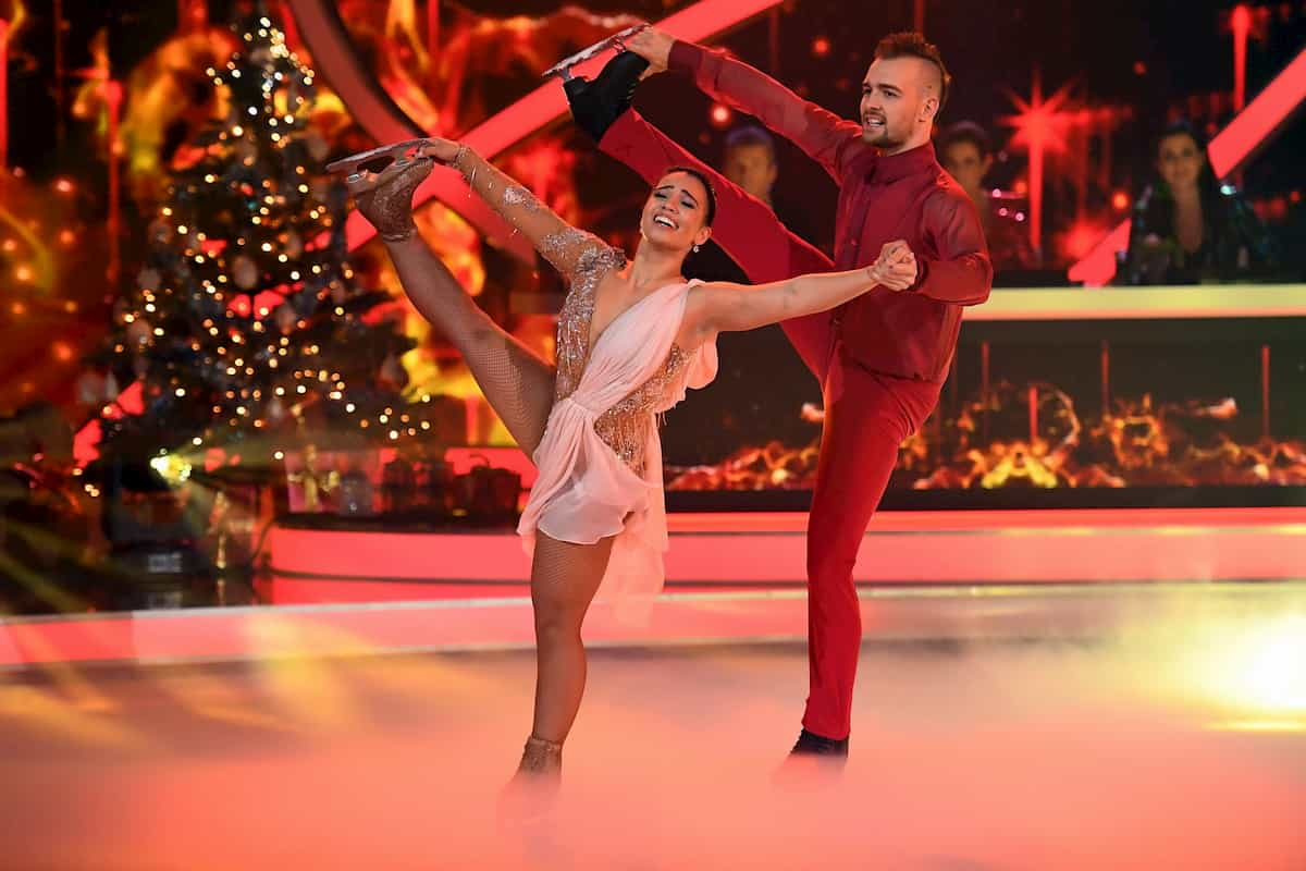 Eric Stehfest - Amani Fancy bei Dancing on Ice am 6.12.2019