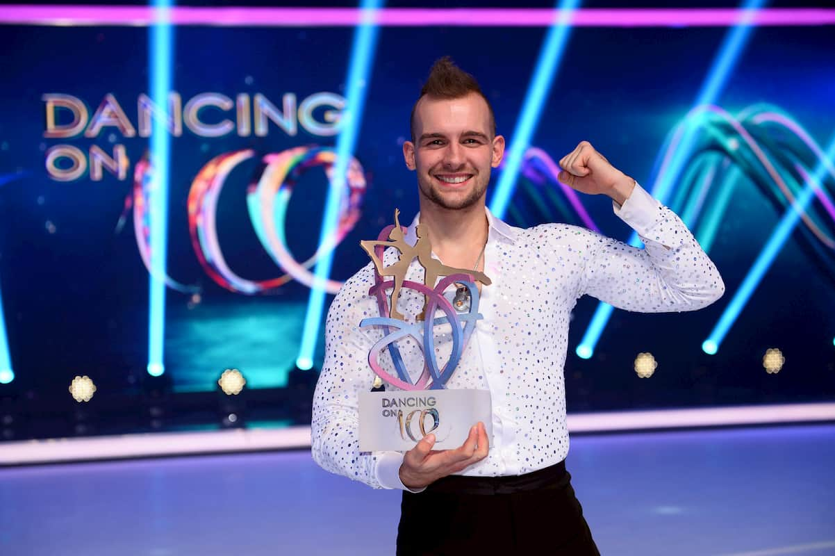 Eric Stehfest als Gewinner Dancing on Ice 2019, 2. Staffel
