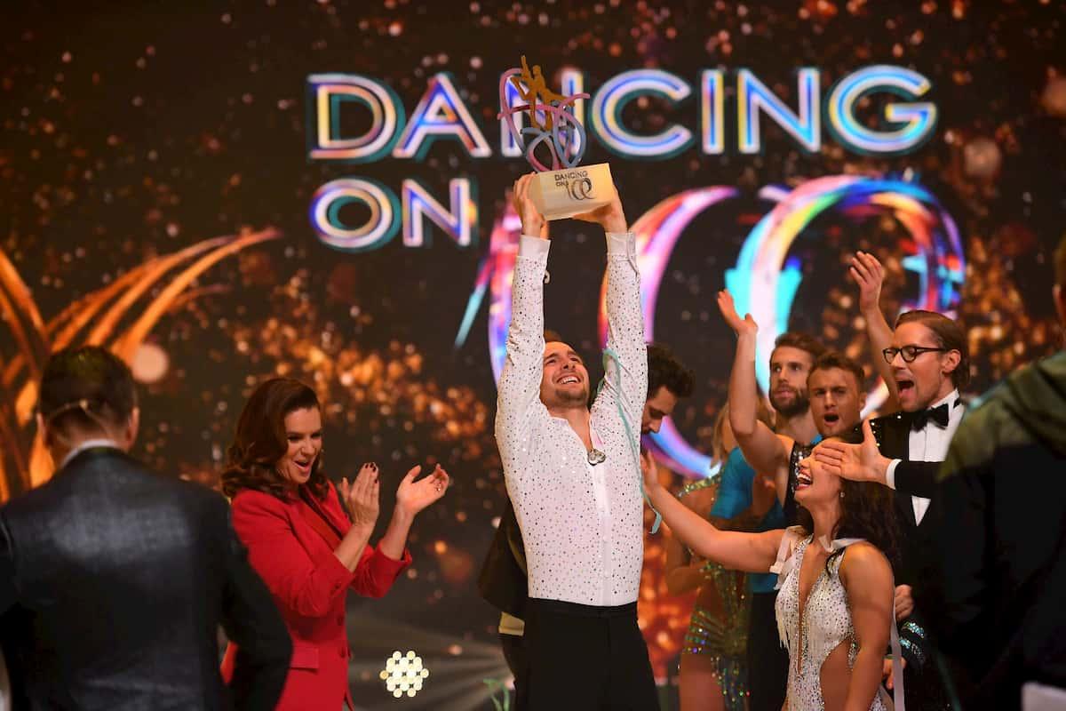 Eric Stehfest als Sieger Dancing on Ice 2019, Staffel Herbst 2019