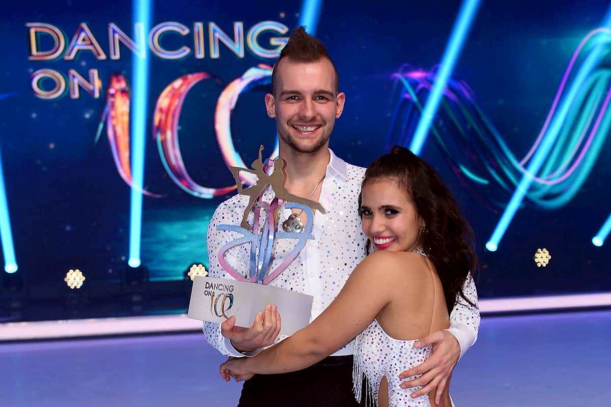 Eric Stehfest und Amany Fancy - Sieger Dancing on Ice 2019, Staffel 2