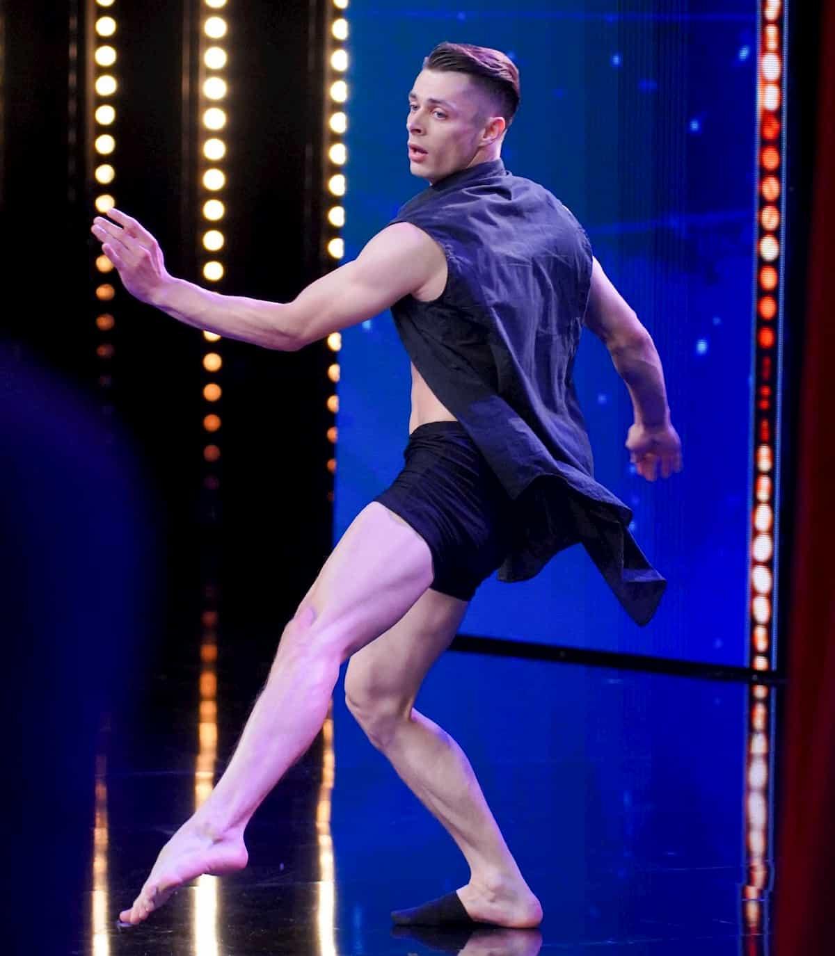 Filip Drogos beim Supertalent am 7.12.2019