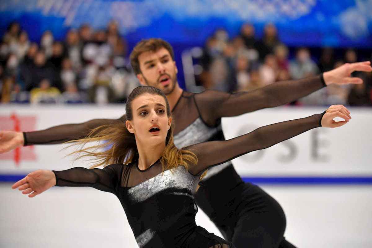 Gabriella Papadakis - Guillaume Cizeron - Favoriten im Eistanz Grand Prix Finale 2019