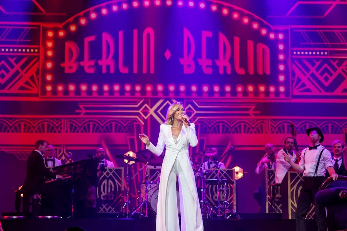 Helene Fischer in ihrer Show am 25.12.2019