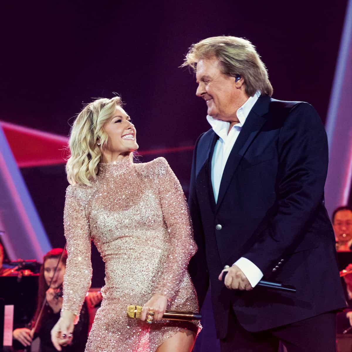 Howard Carpendale und Helene Fischer in der Helene Fischer Show 2019 am 25.12.2019