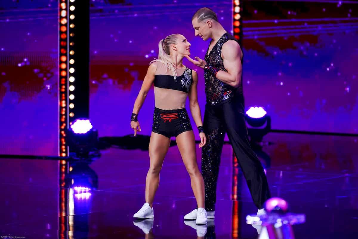 Intense Feelings - Ioulia Joudina und Fabien Ropraz beim Supertalent am 7.12.2019