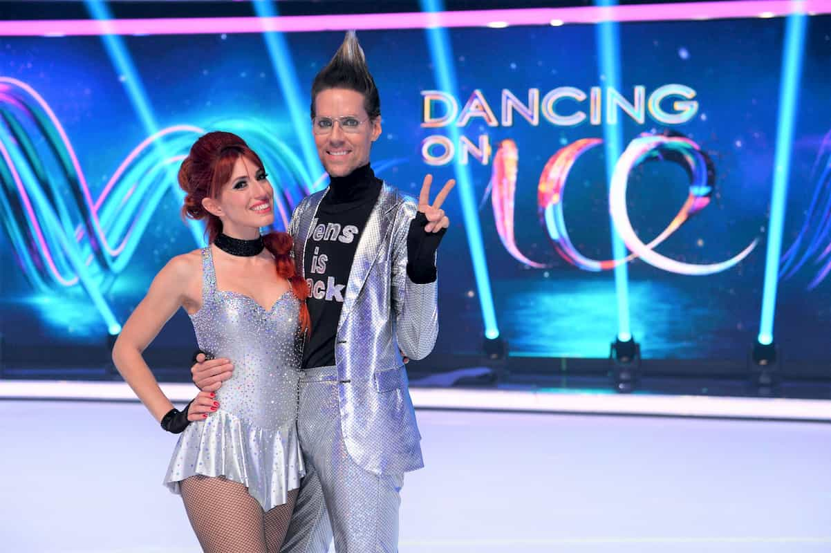 Jens Hilbert und Sabrina Cappellini bei Dancing on Ice 2019