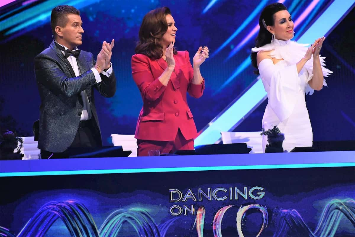 Jury Dancing on Ice im Finale am 20.12.2019 - Daniel Weiss, Katarina Witt und Judith Williams