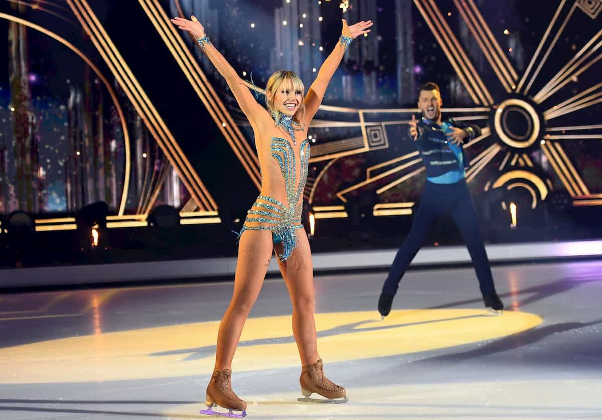 Lina Larissa Strahl - Joti Polizoakis 2. Kür Finbale Dancing on Ice am 20.12.2019