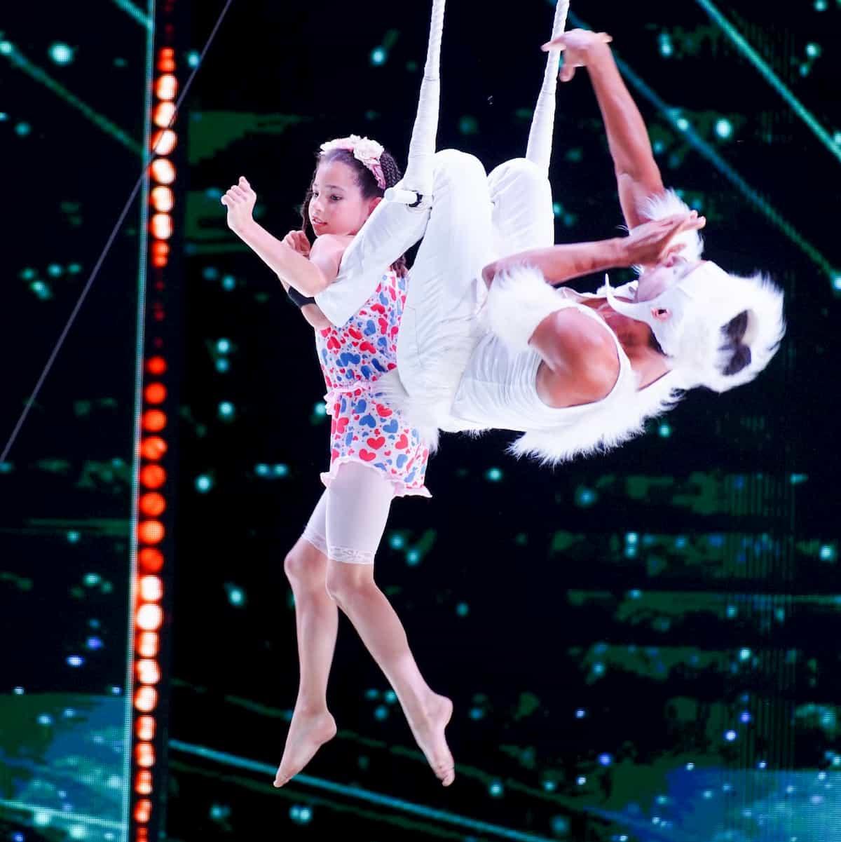 Lorena Lütke und Jailton Carneiro de Jesus beim Supertalent am 7.12.2019