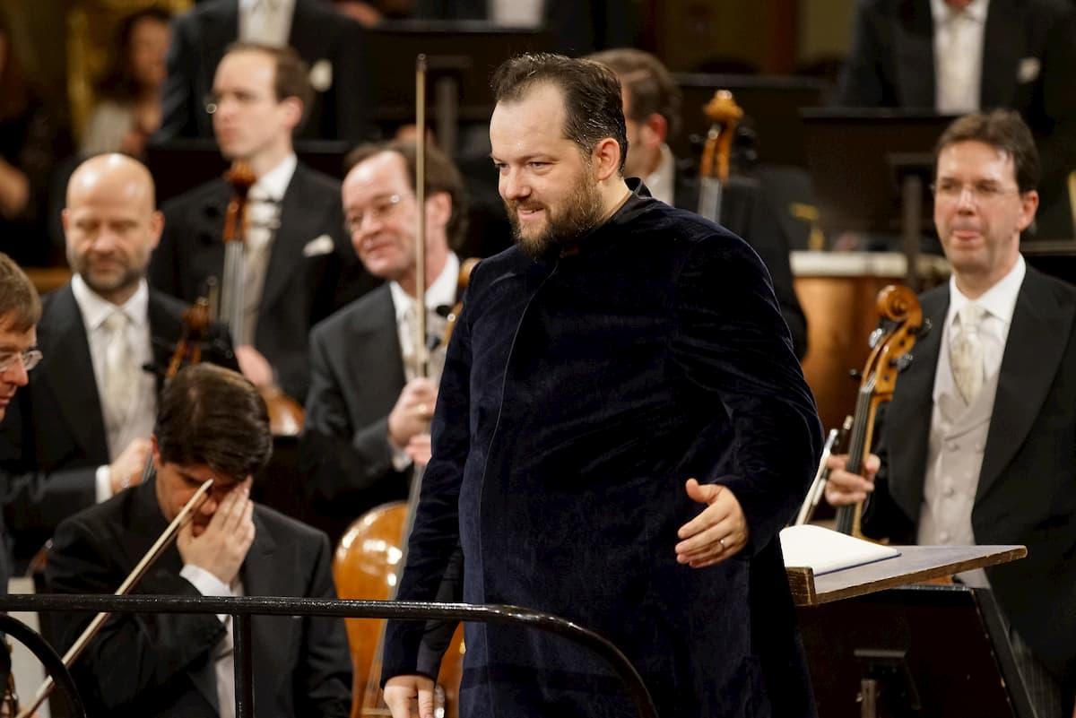 Neujahrskonzert Wiener Philharmoniker 2020 mit Dirigent Andris Nelsons bei der Generalprobe