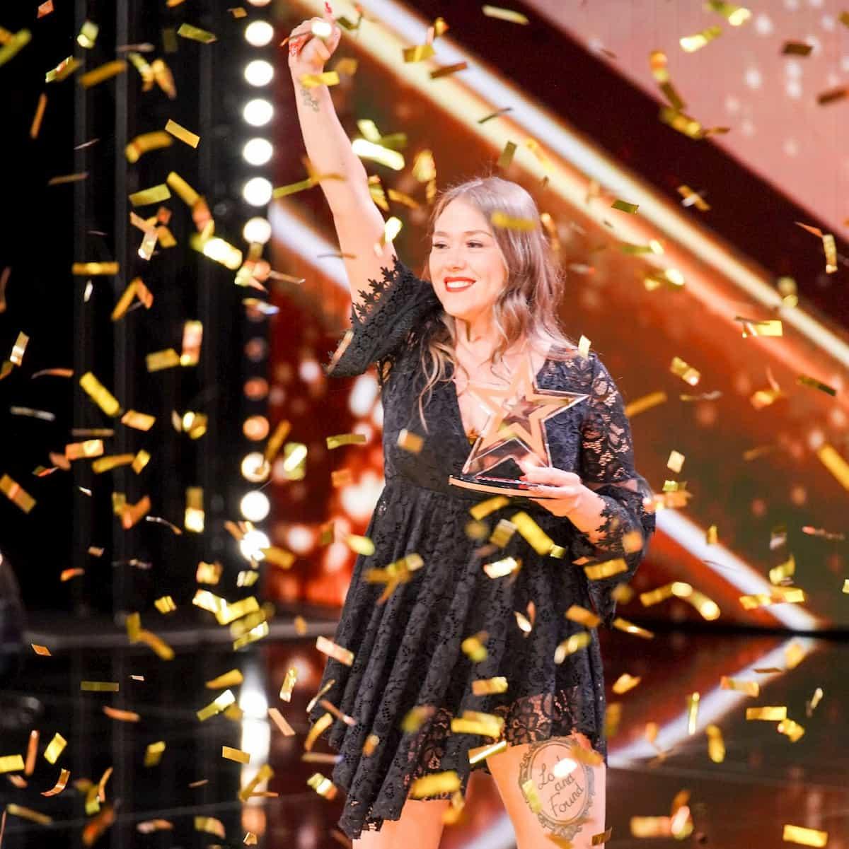 Nina Richel im Finale Supertalent am 21.12.2019