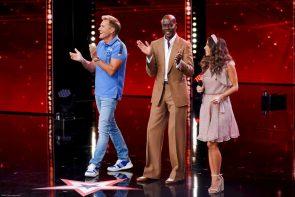 Supertalent am 14.12.2019 - Die letzten Kandidaten und wer es ins Finale schafft - hier im Bild von rechts Sarah Lombardi, Bruce Darnell und Dieter Bohlen