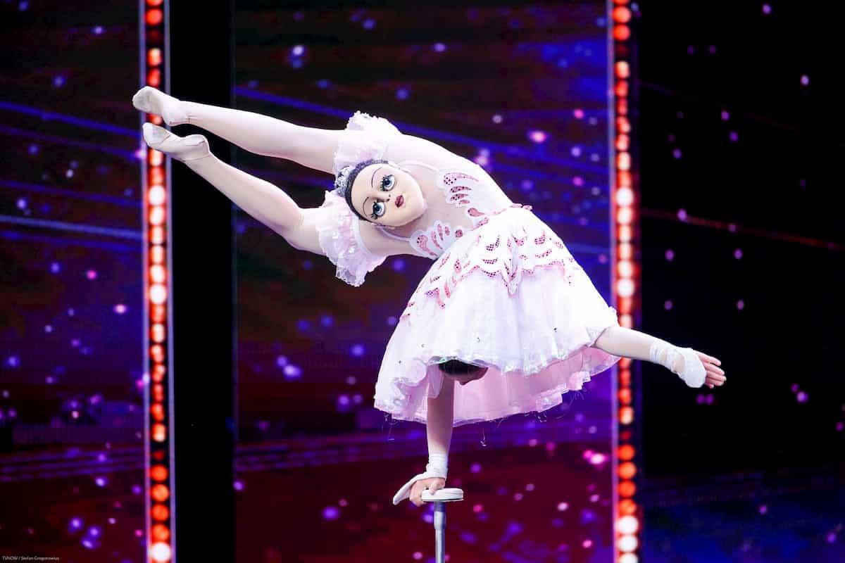 Veronika Khistova beim Supertalent am 7.12.2019