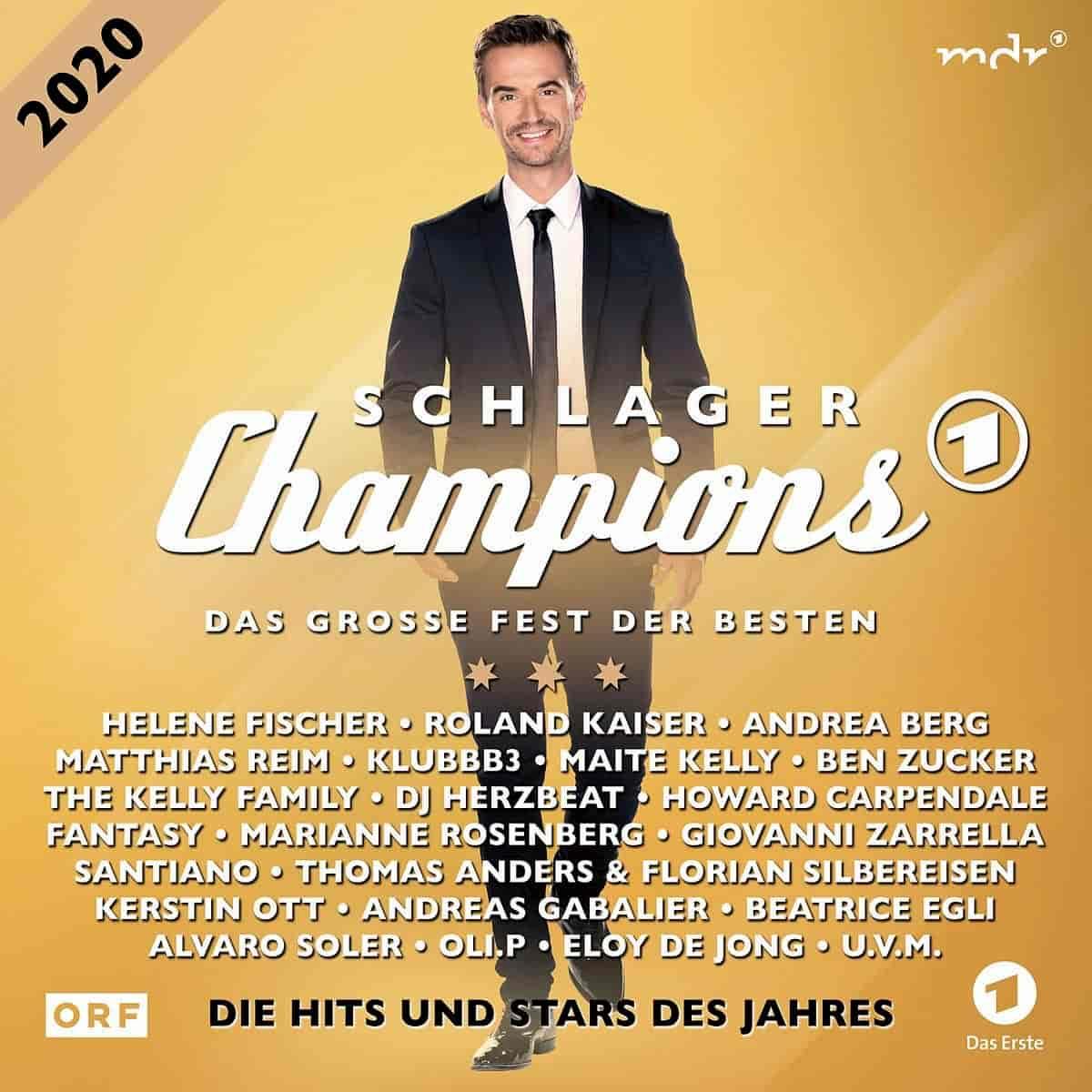 CD Schlagerchampions 2020 - Das große Fest der Besten