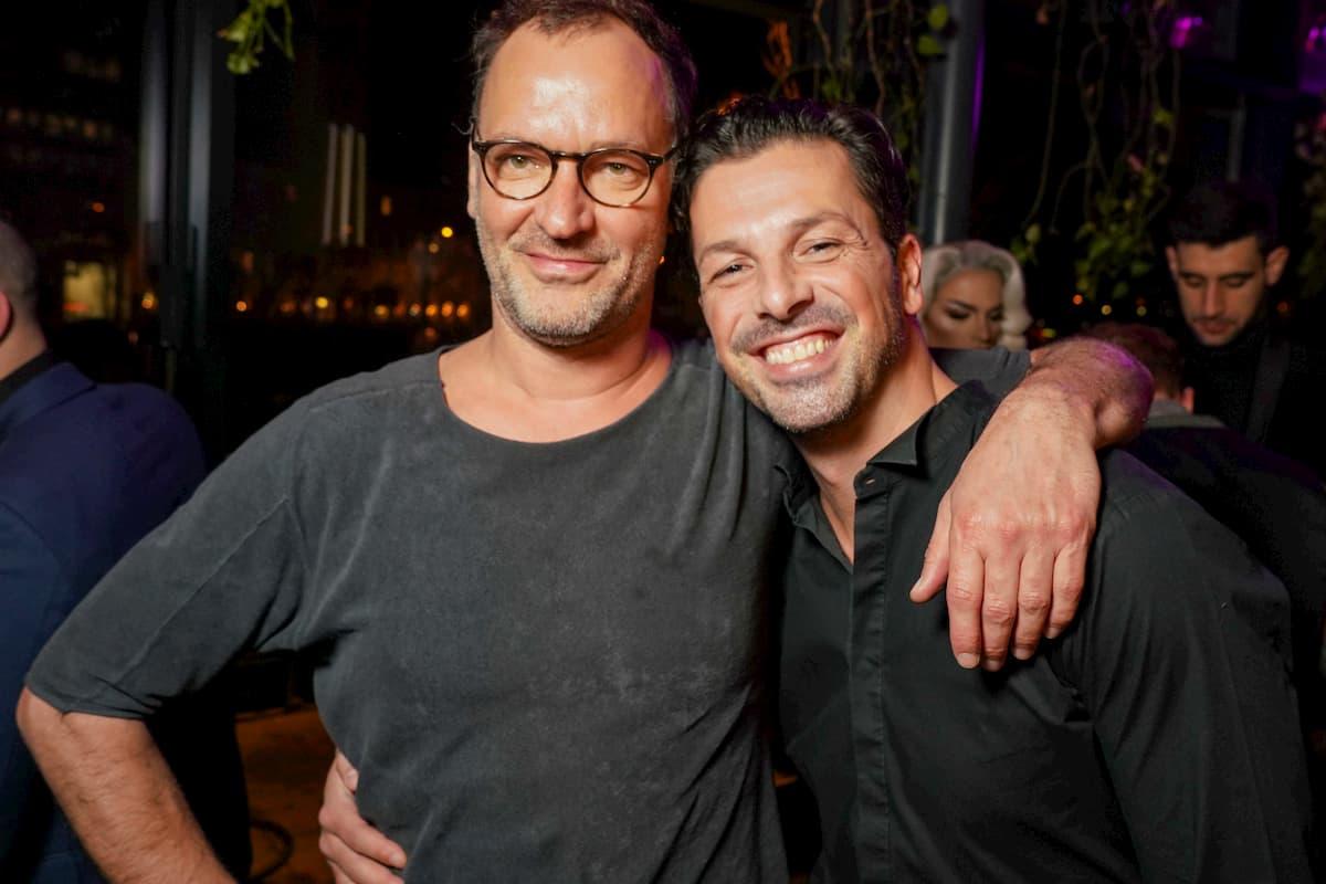 Christian Dolezal und Thomas Kraml beim Kennenlernen der Dancing Stars 2020