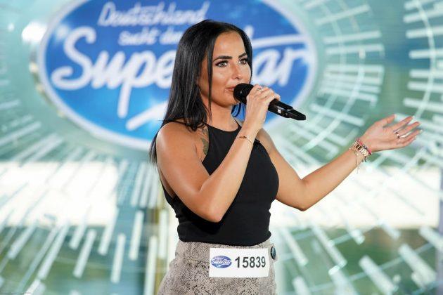 DSDS 2020 am 14.1.2020 Kandidaten vorgestellt, Songs in der Show - hier Celia Maria Fernandes Azevedo