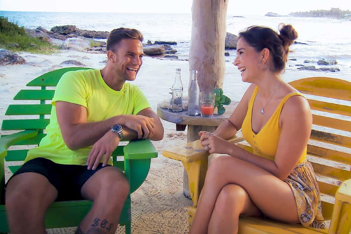 Diana und Sebastian beim Bachelor am 15.1.2020 im Einzel-Gespräch