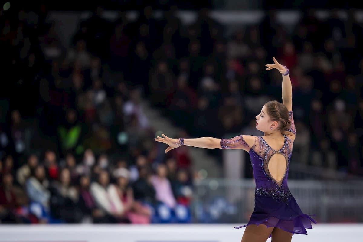 Ergebnisse Eiskunstlauf-Europameisterschaft 2020 in Graz - hier im Bild Alena Kostornai