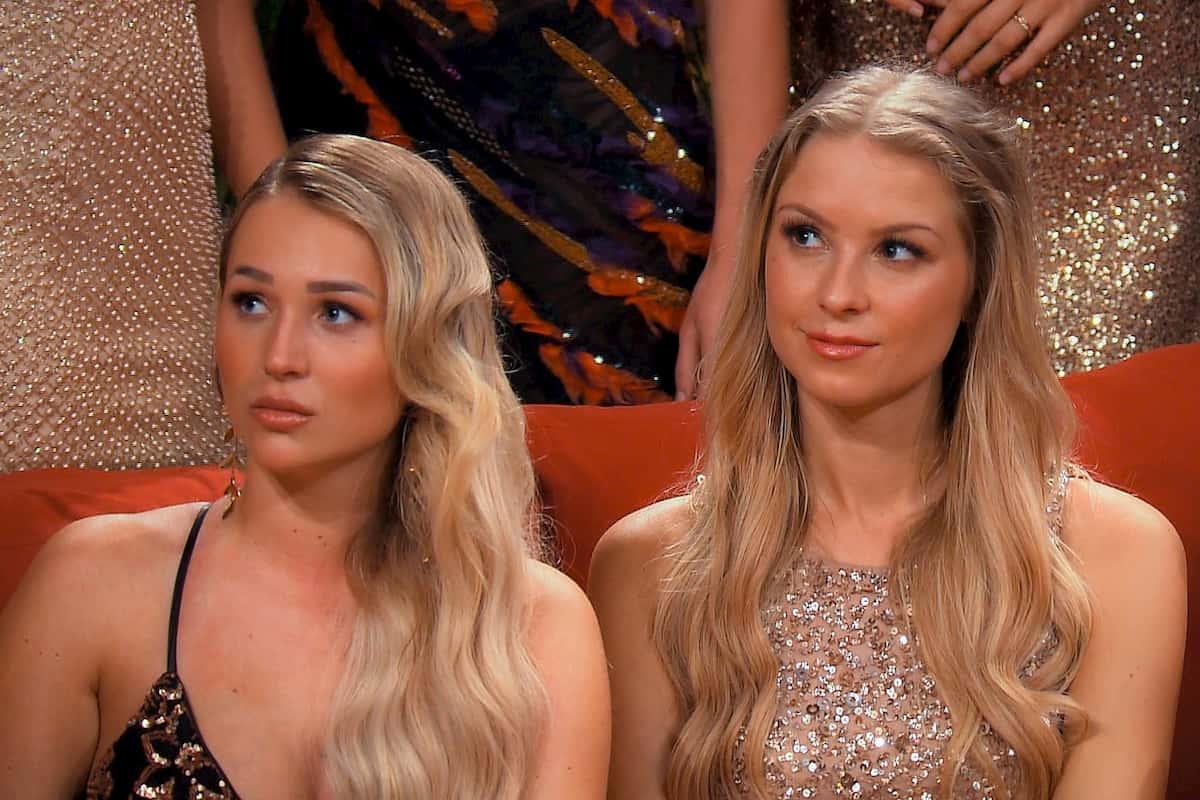 Jessi und Jennifer R beim Bachelor am 8.1.2020