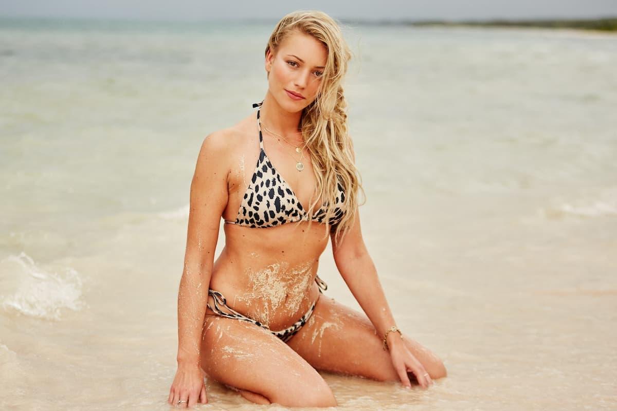 Jessica im Bikini als Bachelor-Kandidatin 2020
