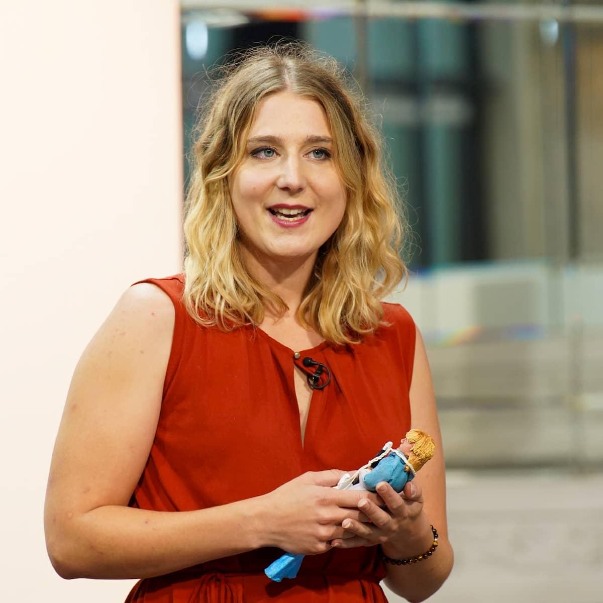 Joleen Kristin Albrecht bei DSDS am 18.1.2020 als Kandidatin
