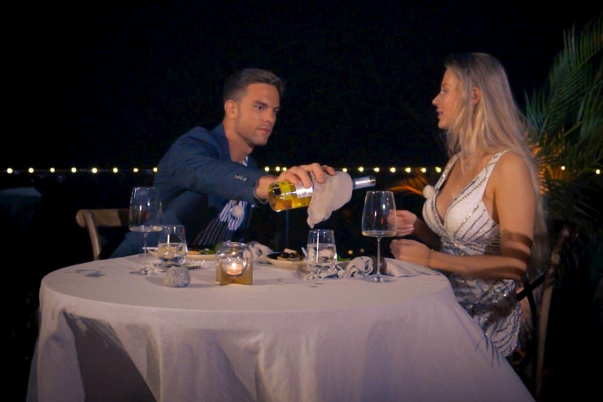 Leah beim Einzel-Date mit Sebastian - Bachelor am 29.1.2020