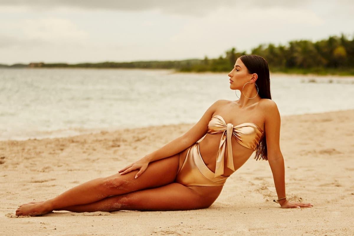 Natali im Bikini als Bachelor-Kandidatin 2020