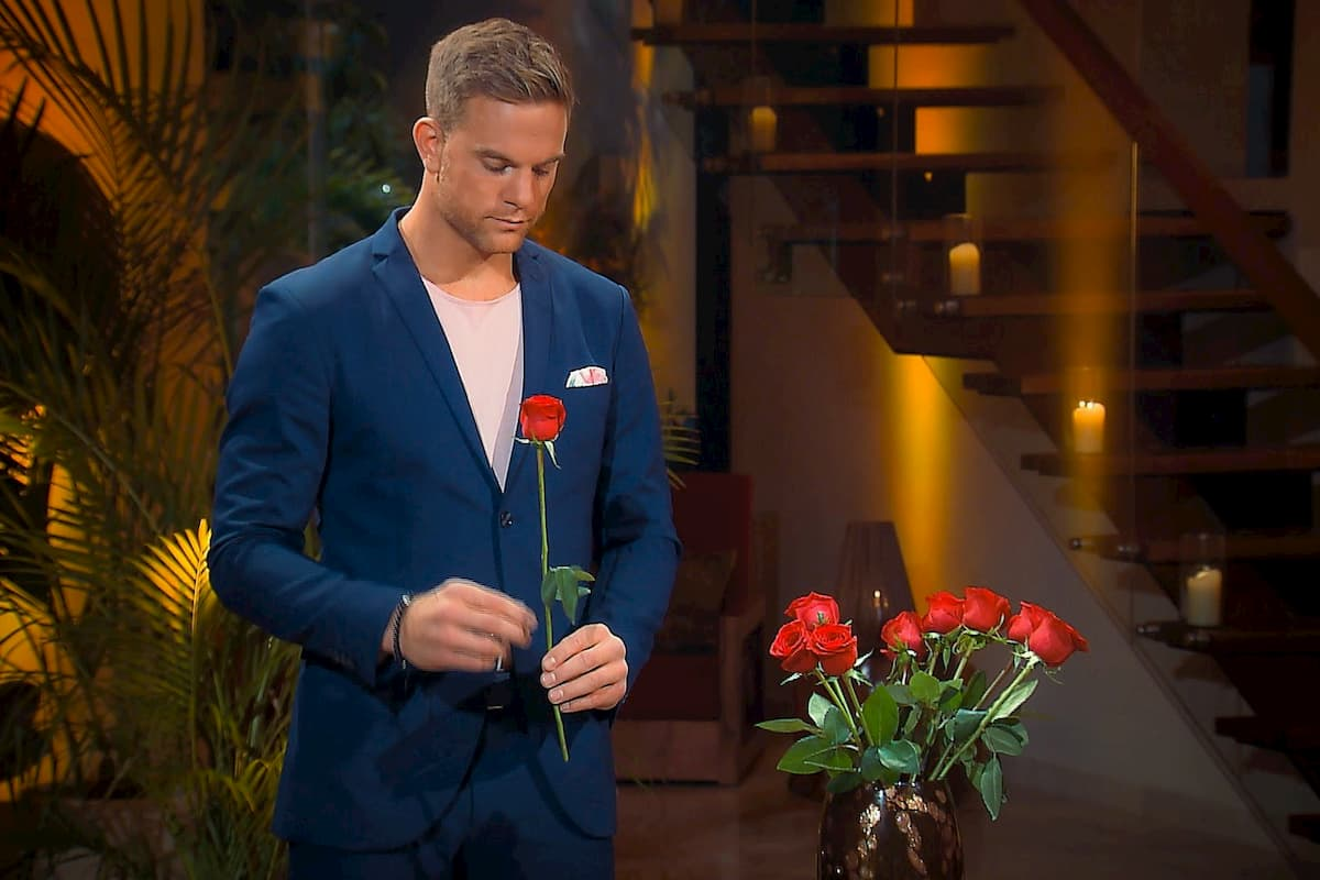 Sebastian in der Nacht der Rosen - Wer ist ausgeschieden, wer kommt weiter beim Bachelor am 29.1.2020