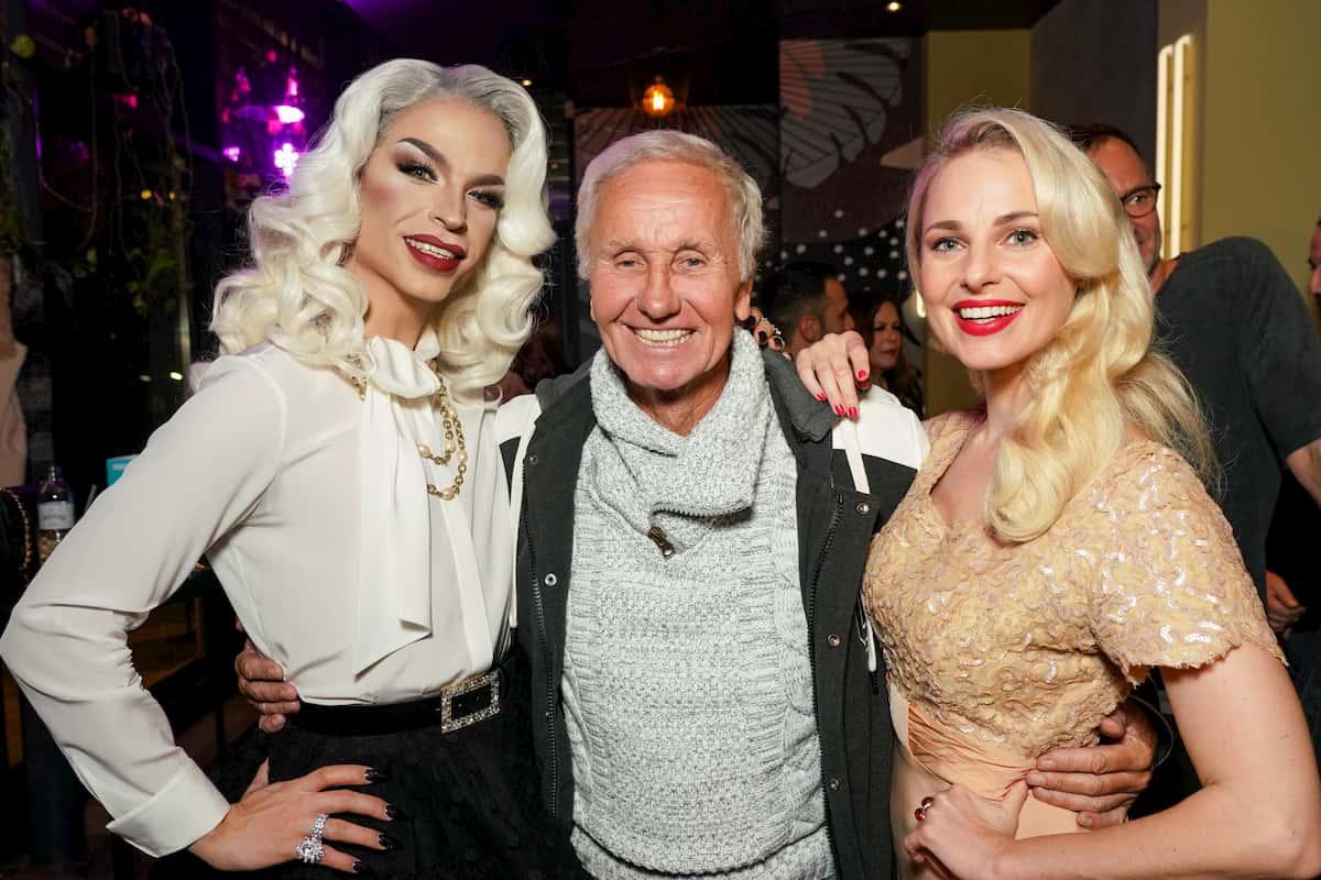 Tamara Mascara, Klaus Eberhartinger und Silvia Schneider beim Kennenlernen der Dancing Stars 2020