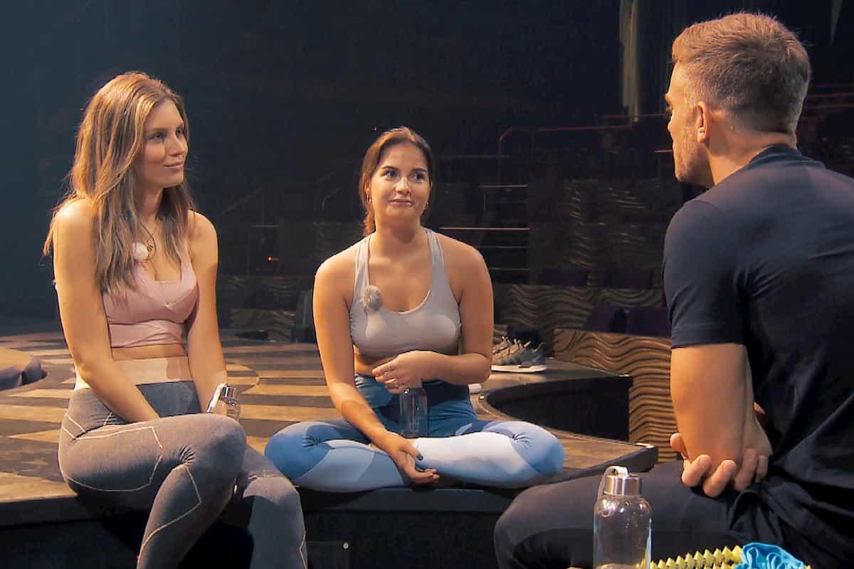 Wioleta, Diana und Sebastian Doppel-Date Bachleor am 22.1.2020