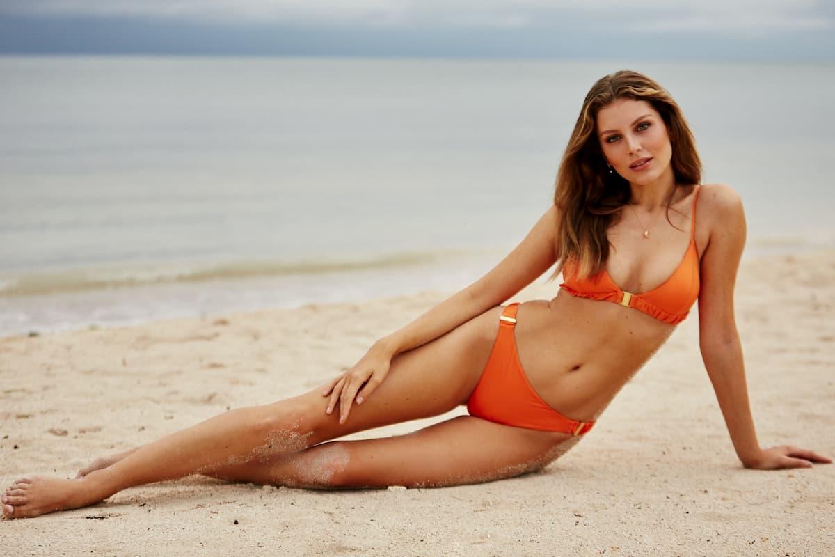 Wioleta im Bikini als Bachelor-Kandidatin 2020