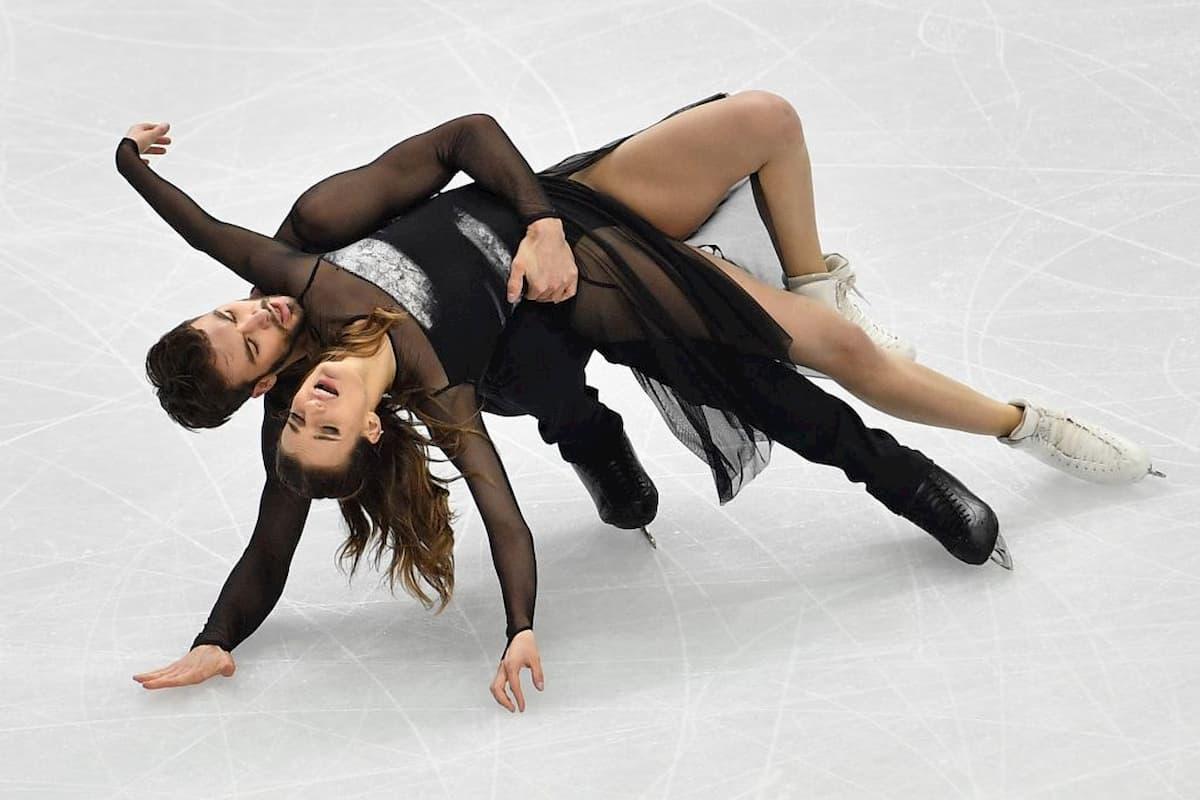 Zeitplan - Ablauf Europameisterschaft Eiskunstlauf 2020 in Graz 22.-26.1.2020 - hier im Bild Gabriella Papadakis - Guillaume Cizeron