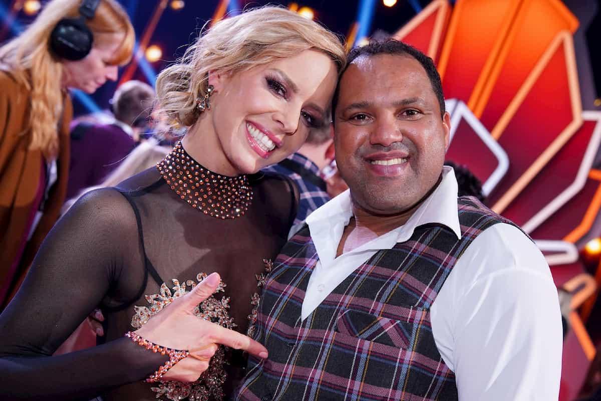 Ailton und Isabel Edvardsson als Tanzpaar bei Let's dance 2020