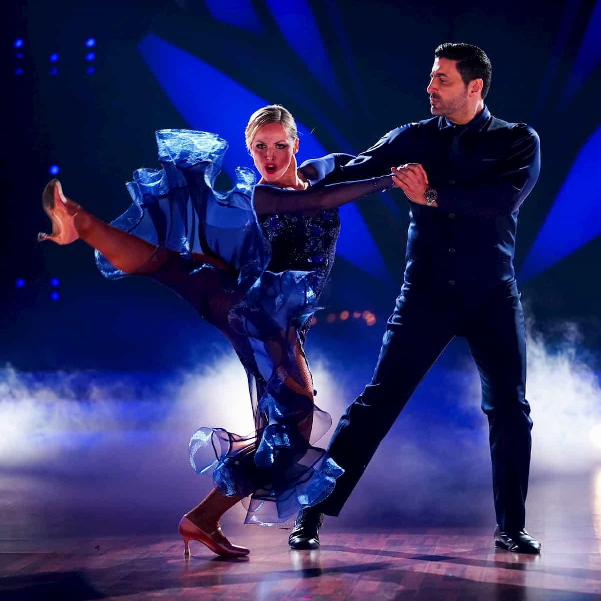 Alona Uehlin und Sükrü Pehlivan bei Let's dance 2020 am 28.2.2020