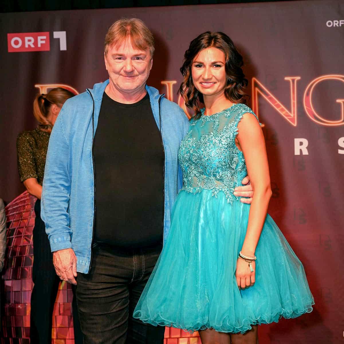 Andreas Ogris - Vesela Dimova als Tanzpaar bei den DancingStars 2020 dabei