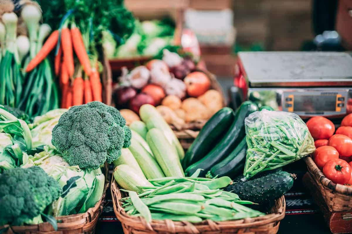 Auch bei Obst und Gemüse - Abwechslung ist das A und O