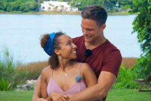 Bachelor 2020 am 5.2.2020 Überraschendes und wer scheidet aus - hier Linda und Sebastian beim Einzel-Date