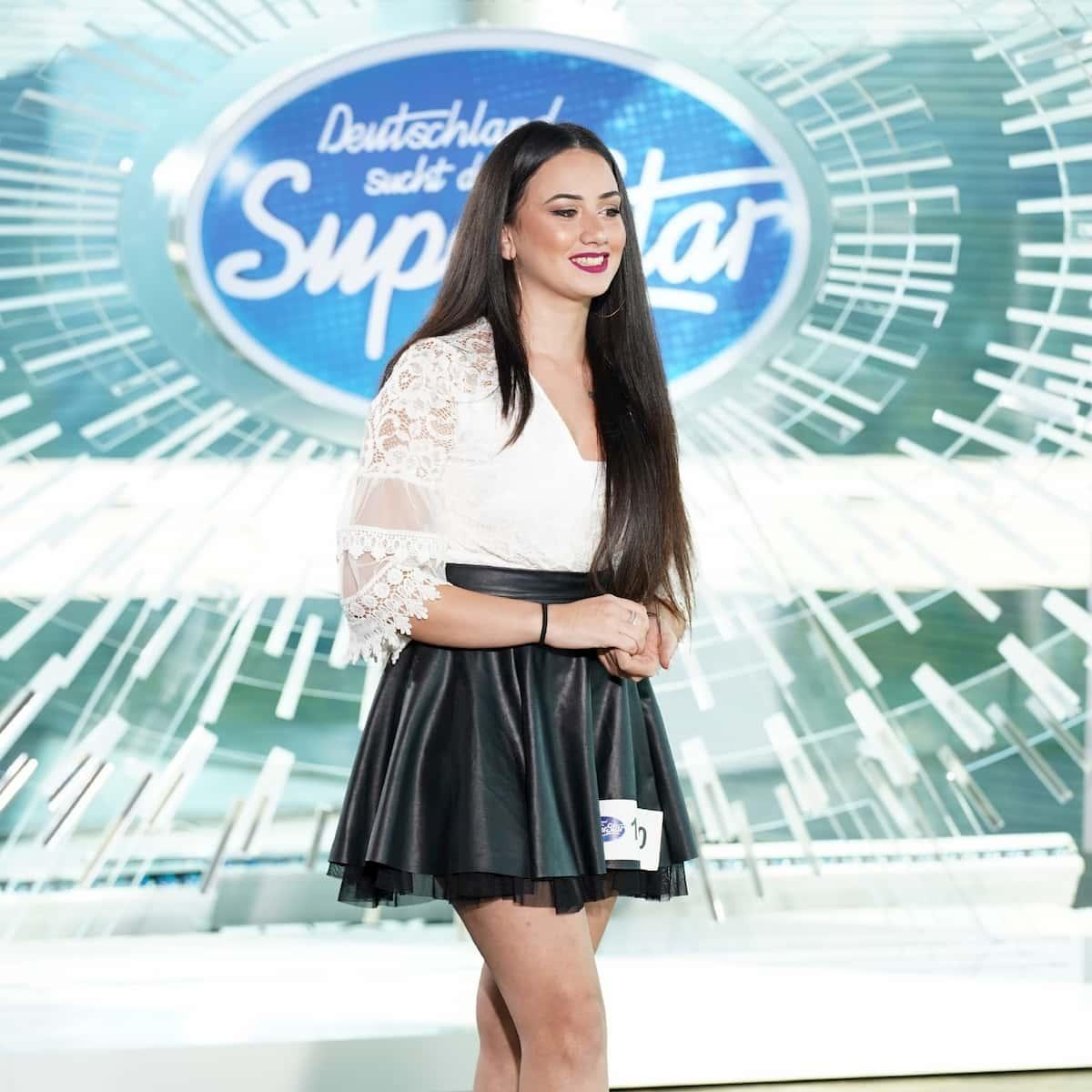 Chiara D'Amico bei DSDS am 1.2.2020 als Kandidatin