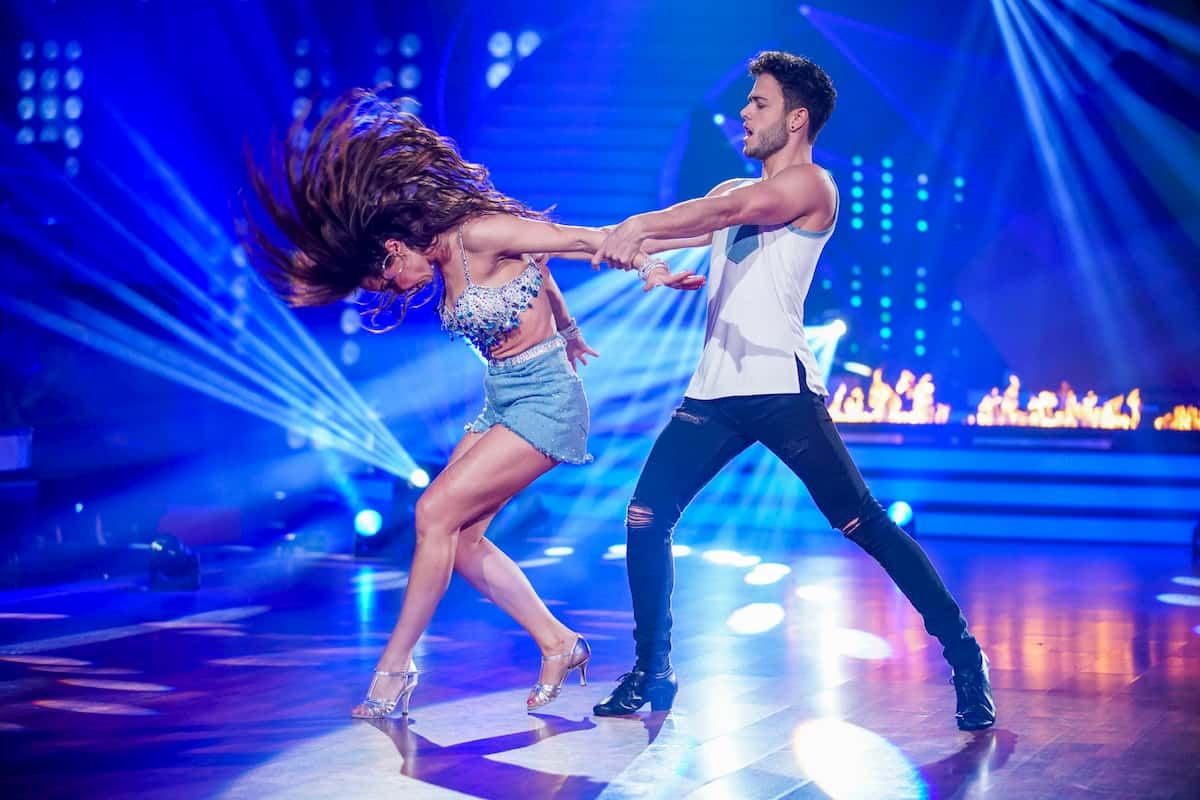 Christina Luft - Luca Hänni Let's dance 28.2.2020
