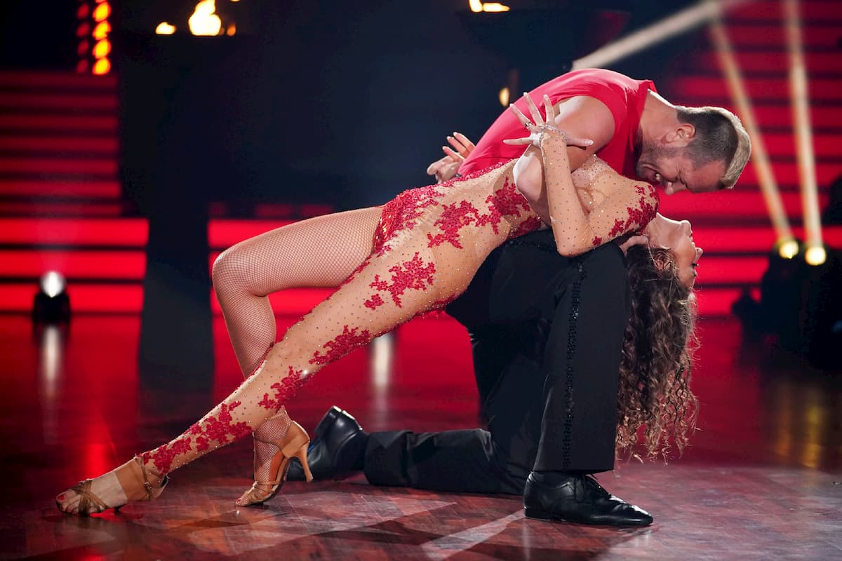 Ekaterina Leonova und Pascal Hens bei Let's dance am 21.2.2020 mit ihrem Gast-Tanz