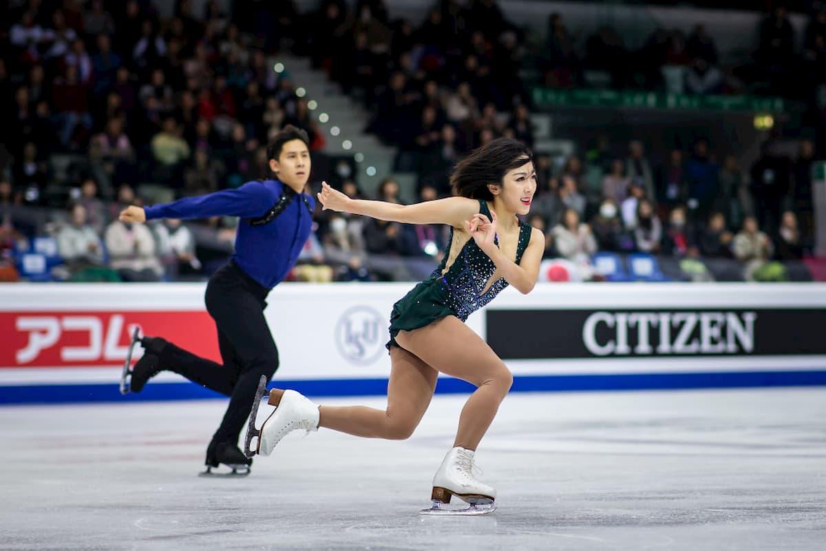 Favoriten bei den Eiskunstlauf-Paaren bei den 4 Continents Championships 2020 - Wenjing Sui - Cong Han aus China
