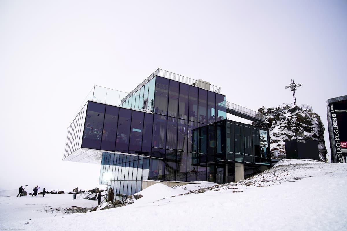 Ice Q in Sölden, Ort des Recalls DSDS am 15.2.2020