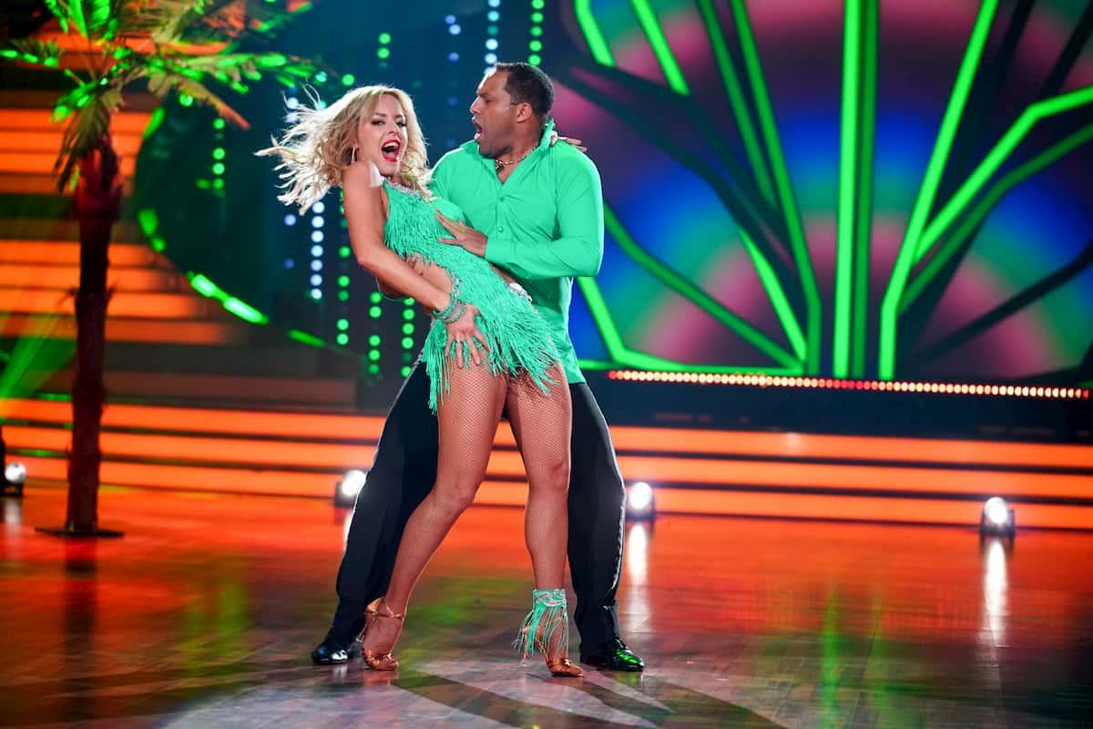 Isabel Edvardsson - Ailton bei Let's dance am 28.2.2020