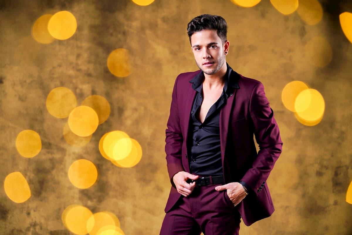 Luca Hänni bei Let's dance 2020 Prominenter Kandidat