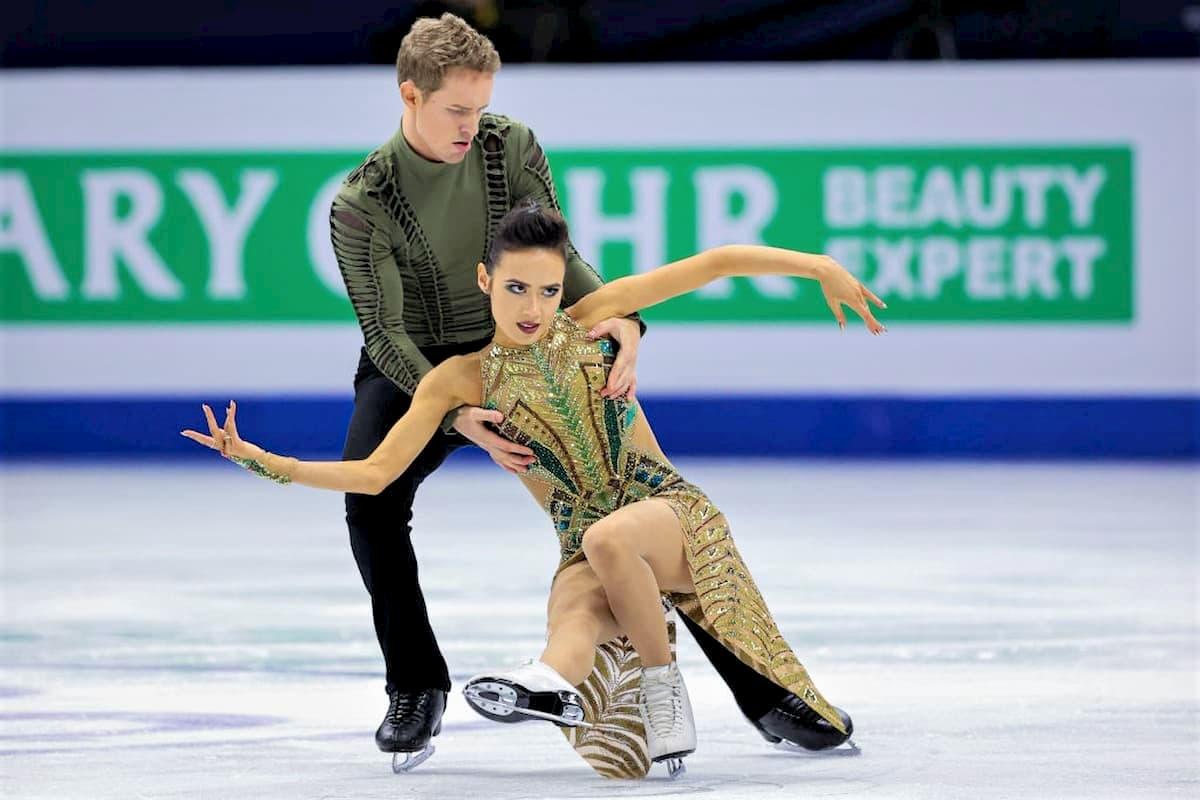 Madison Chock - Evan Bates Sieger Eistanz-Paare bei den 4 Continents Championships 2020