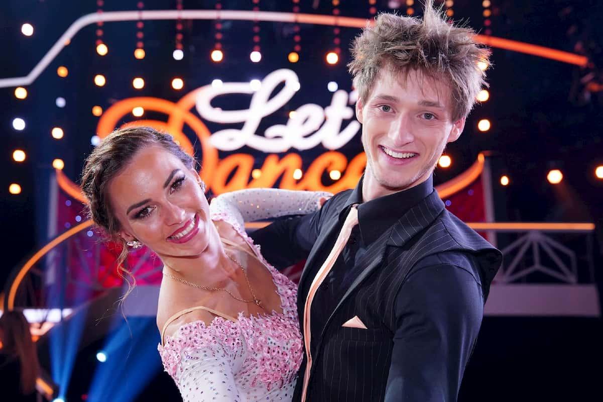 Moritz Hans - Renata Lusin als Tanzpaar bei Let's dance 2020