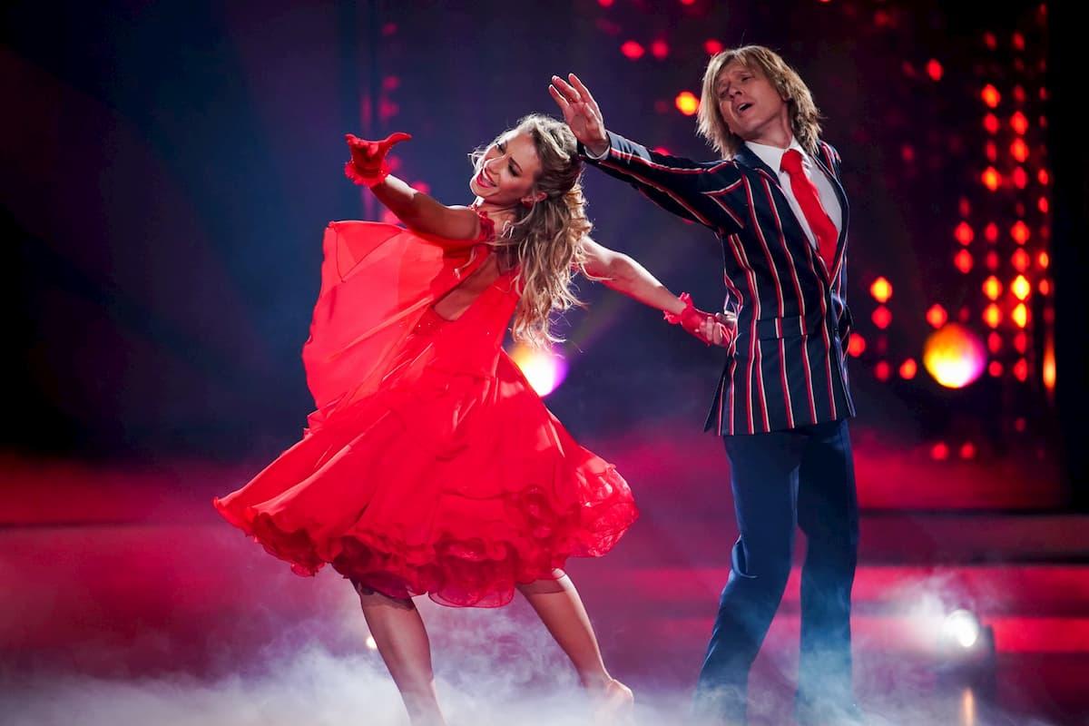 Regina Luca - John Kelly Let's dance 28.2.2020